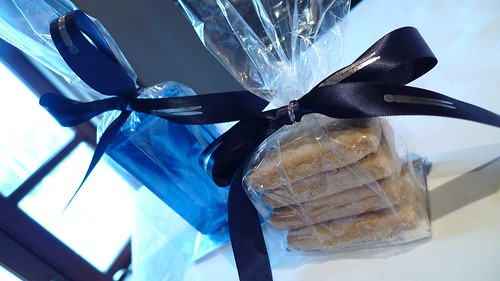 Birthday Chocolate Bars and TFL Shortbread