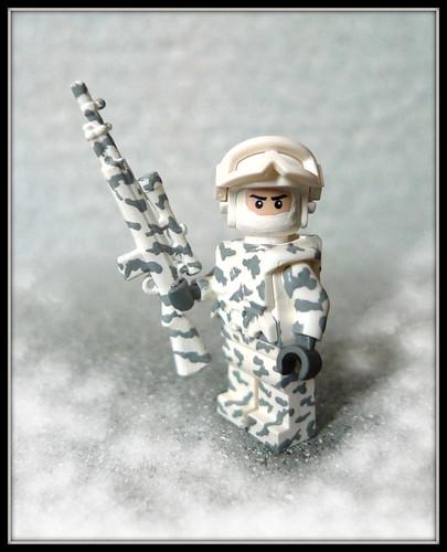 Winter Sniper custom minifig