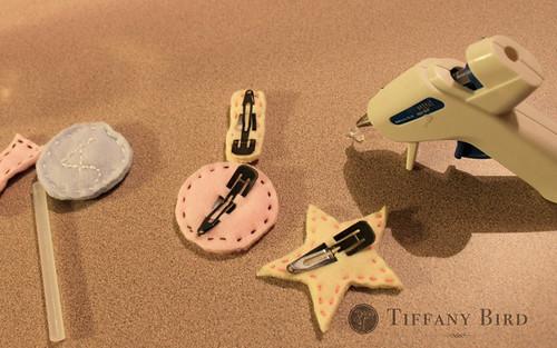 felt clip glue gun
