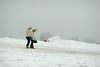 help (1-2-3 cheese) Tags: winter portrait snow girl washingtondc friend candid bff 85mmf18 chuplen winter2009