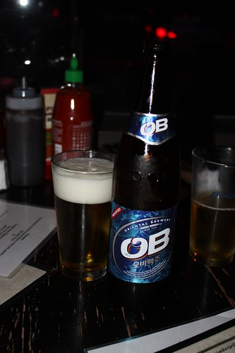 OB Beer.