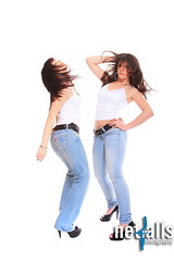 two girls in jeans and white tshirt (Netfalls) Tags: life family girls two portrait people white love beautiful beauty smile face closeup female youth sisters fun happy healthy women friend girlfriend couple pretty friendship adult emotion young lifestyle happiness romance lovers sensual jeans desire together attractive passion casual cheerful sensuality tenderness