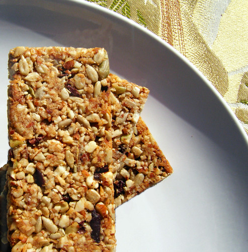 Healthy, Homemade Granola Bars