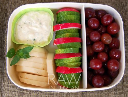 Raw food bento