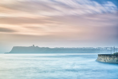A Misty Start, Scarborough (mark_mullen) Tags: canon24105 canon5dmk3 leebigstopper markmullenphotography northbay northsea northyorkshire scalbymills scarborough beach early landscape longexposure mist misty morning sea seascape sunrise uk