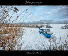 Next year, maybe... (Nikos O'Nick) Tags: nikos onick kotanidis nicholas nikon d810 nikkor 1424mm manfrotto 055xprob 498rc2 ballhead photomatix hdr topaz nik color efex pro4 hellas greece kastoria western macedonia boat blue lake snow frozen weeds landscape sky clouds immobility next year maybe νίκοσ νικόλαοσ κοτανίδησ καστοριά ελλάδα δυτική μακεδονία λίμνη χιόνι πάγοσ βάρκα καλάμια ουρανόσ σύννεφα