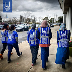 Islamic Relief USA's disaster response team providing support for those affected by the Oroville Dam.