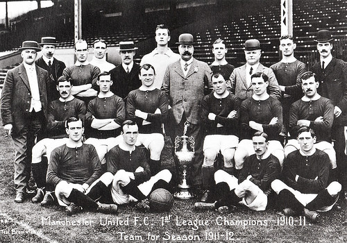 Manchester United 1911/12 team photograph