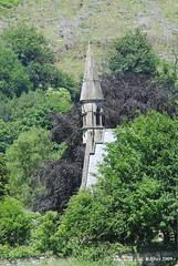 Church Spire in Llandago,Wales.