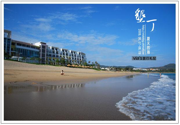 【墾丁景點】來渡假吧~墾丁夏都飯店海灘實景17