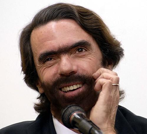 por las barbas del presidente
