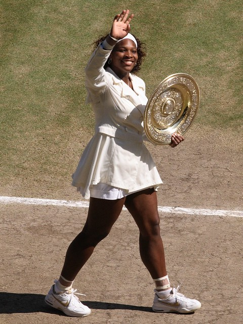 Serena and Trophy