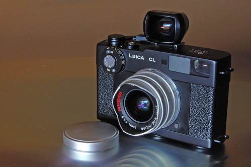 Leica CL with Voigtlander Super Wide-Heliar 15mm