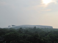 Sunset Over Kaohsiung World Games Main Stadium