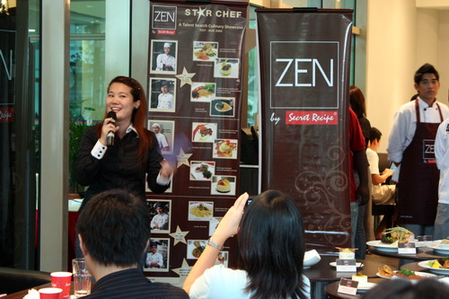 Zen Star Chef Jamie Fong, Marketing Manager of Secret Recipe