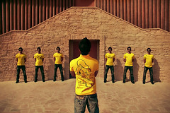 Mood's Yellow Army (Prince Mooda BB : 2AA36ACF) Tags: boy man yellow army moody you p  heheh   looooooool qatari mooda     heheheheee ok7ala9sorry 7amoooooood