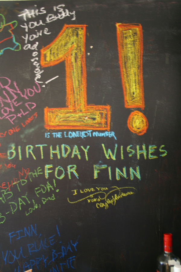Chalkboard Wishes