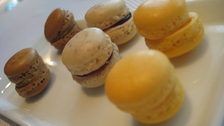 Trio of Macaroons at Jean Georges