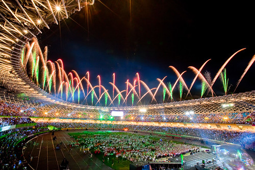 2009 World Games Closing Ceremony Fireworks 世運閉幕煙火