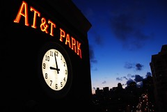 AT&T Park (timbo_lives_here) Tags: sanfrancisco sunset three nine giants pm minutes attpark as