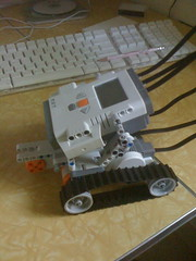 Bunny's First Lego Mindstorms NXT Robot