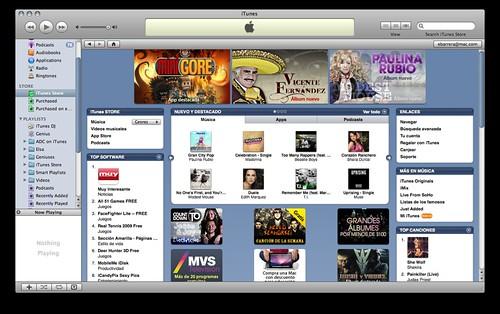 Se inauguró iTunes para México