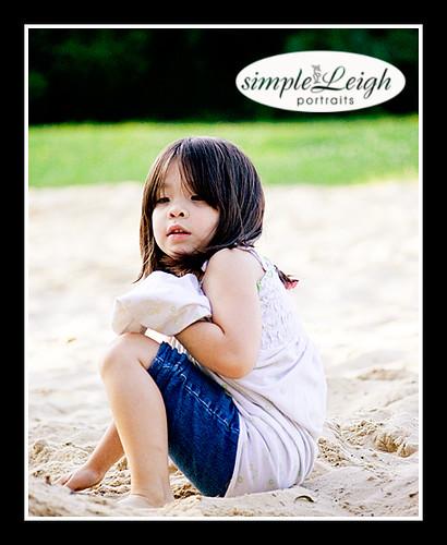 Anna in Sand.