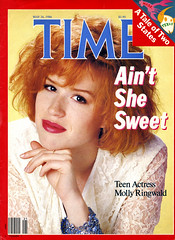 Time Magazine - Molly Ringwald (Kitten Moon) Tags: teen cover movies 1980s prettyinpink timemagazine thebreakfastclub mollyringwald sixteencandles johnhughes