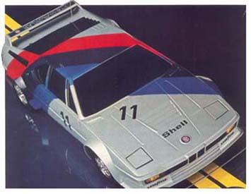 BMW M1 - Carrinho de controle remoto da Estrela Pégasus