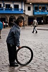 Enfant, Cuzco, Pérou