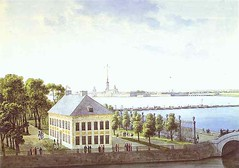 Martynov, Andrey (1768-1826) - 1809-10 Palace of Peter the Great in the Summer Gardens in St. Petersburg (The Hermitage) (RasMarley) Tags: building water watercolor cityscape 19thcentury 1800s painter hermitage russian realism 1809 martynov andreymartynov palaceofpeterthegreatinthesummergardens