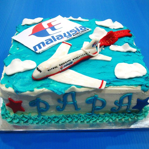 Malaysian airlines cake
