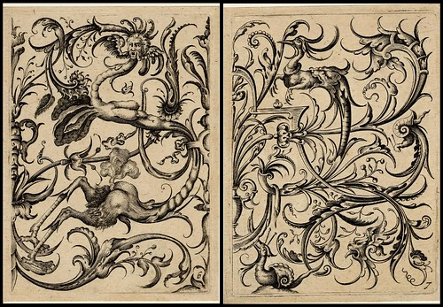 grotesque ornament design