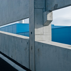 (HampusBovbjerg (.se)) Tags: square architechture parkinggarage norrland sundsvall nikond200 birsta