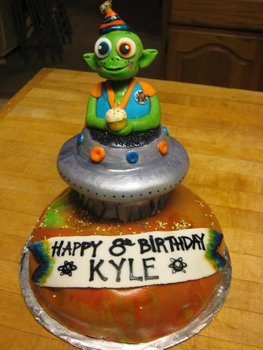 Surprise cake...