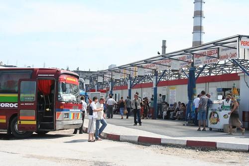 Terminal de Autocarro Gare Nord em Chisinau Moldávia