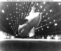 USS Macon in Hangar (lazzo51) Tags: aviation science usnavy blimps airships zeppelins luftschiff dirigibles ussmacon zrs5