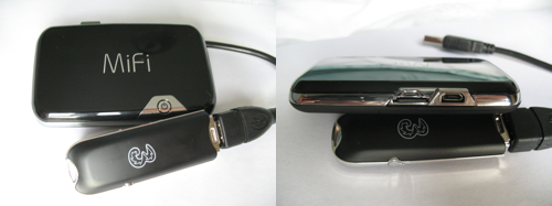 MiFi 2352 - Front and Back