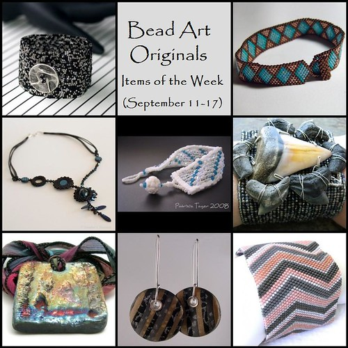 Bead Art Originals Items of the Week (Sept 11-17)