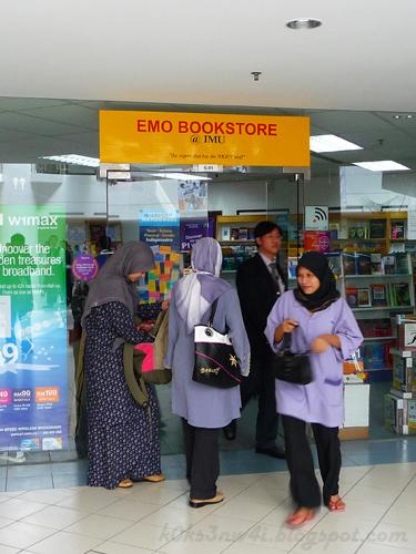 Emo Bookstore