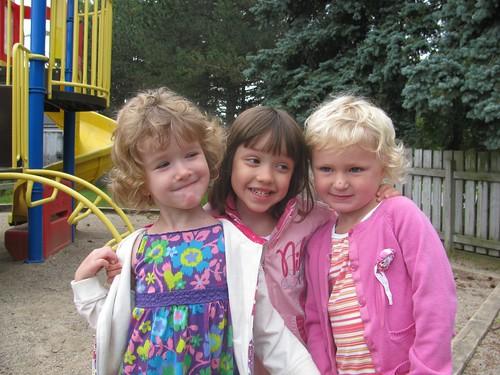 Friends from preschool, reunited