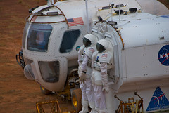LER Docking with Cabin A (NASA Desert RATS) Tags: nasa 2009 ler desertrats blackpointlavaflow