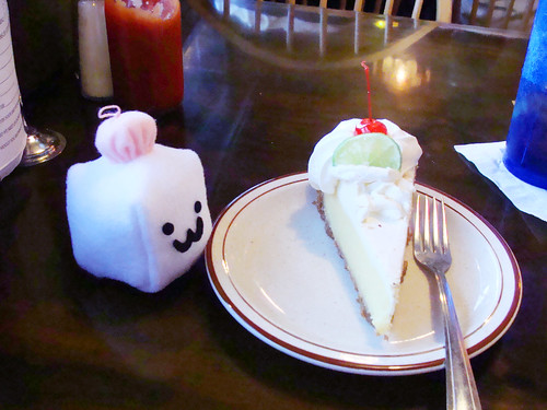 Tofu Baby enjoys some key wime pie in Fworida.