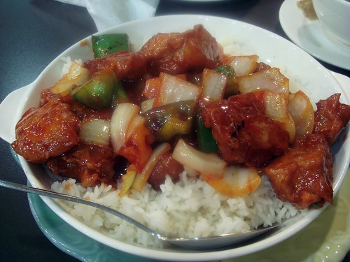 Sweet & Sour pork @Neway