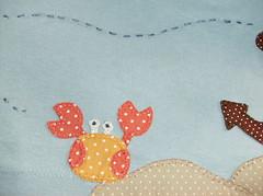 batinha fundo do mar (by Pathy) Tags: colors quilt tshirts patchwork bordados algodão appliqué aplicação botões customizada customização patchcolagem bordadosamão aplicaçãodetecido camisetascomaplicação tecidosestampados aplicaçãoemcamisetas customizaçãodebatinhas camisetascomaplicações babylookscomaplicações customizaçãodecamisetas camisetascustomisadas batinhascustomisadas bypathy