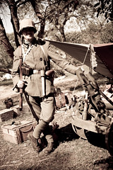 Mexico Missouri: Walk Through History 9.27.2009 (Notley) Tags: people history festival mexico soldier wwi september missouri 2009 reenactor reenactors pictureperfect mexicomissouri 10thavenue thegreatwar germansoldier audraincounty notley ruralphotography walkthroughhistory notleyhawkins missouriphotography audraincountyhistoricalsociety walkthroughhistoryfestival httpwwwnotleyhawkinscom notleyhawkinsphotography