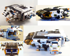 LEGO MOC - Mars Mission Dropship (Retired) (Slayerdread) Tags: lego space wip moc dropship marsmission