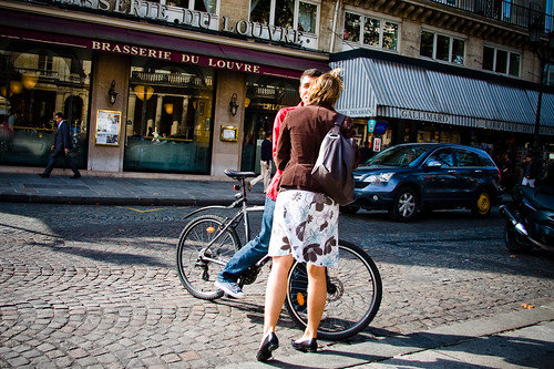 Paris Cycle Chic - Greeting