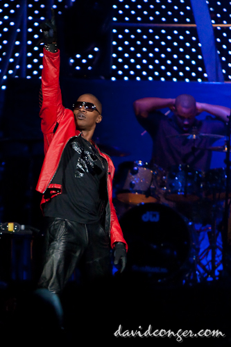 Jamie Foxx at Key Arena