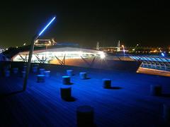 blue light (hamapenguin) Tags: blue light japan night nightshot yokohama    impressedbeauty diamondclassphotographer flickrdiamond